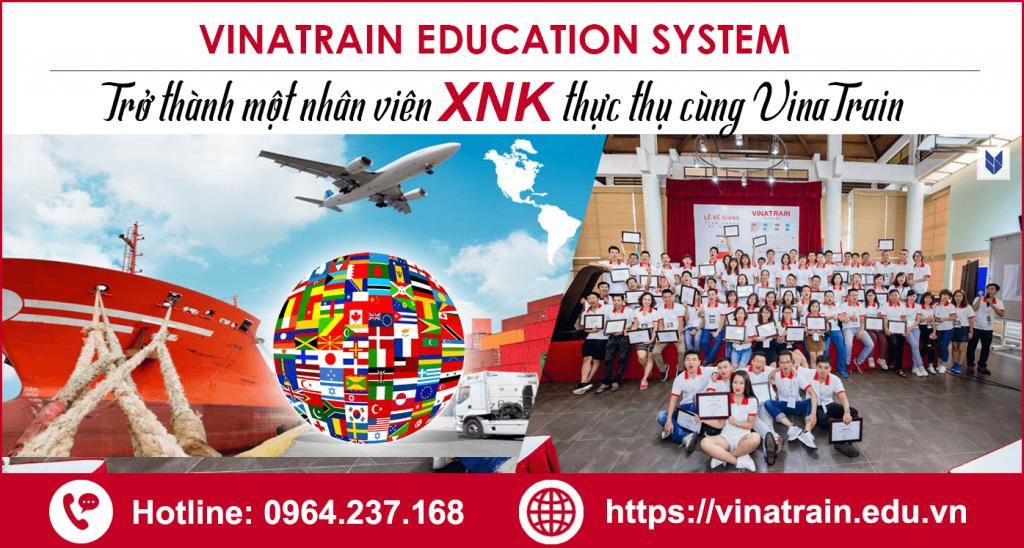 Khóa học xuất nhập khẩu Vinatrain được đánh giá cao