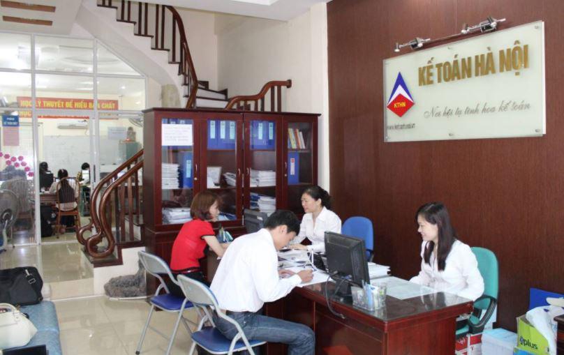 Hình ảnh đào tạo tại trung tâm kế toán Hà Nội