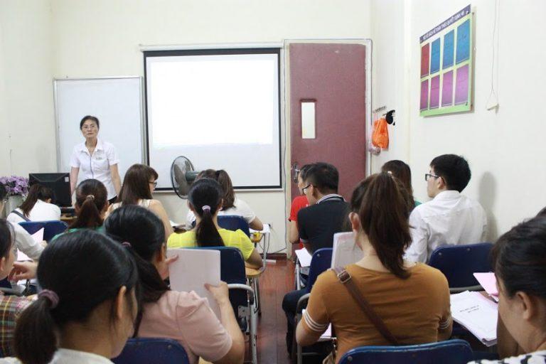 Hình ảnh lớp học tại trung tâm gia sư Kế Toán Trưởng
