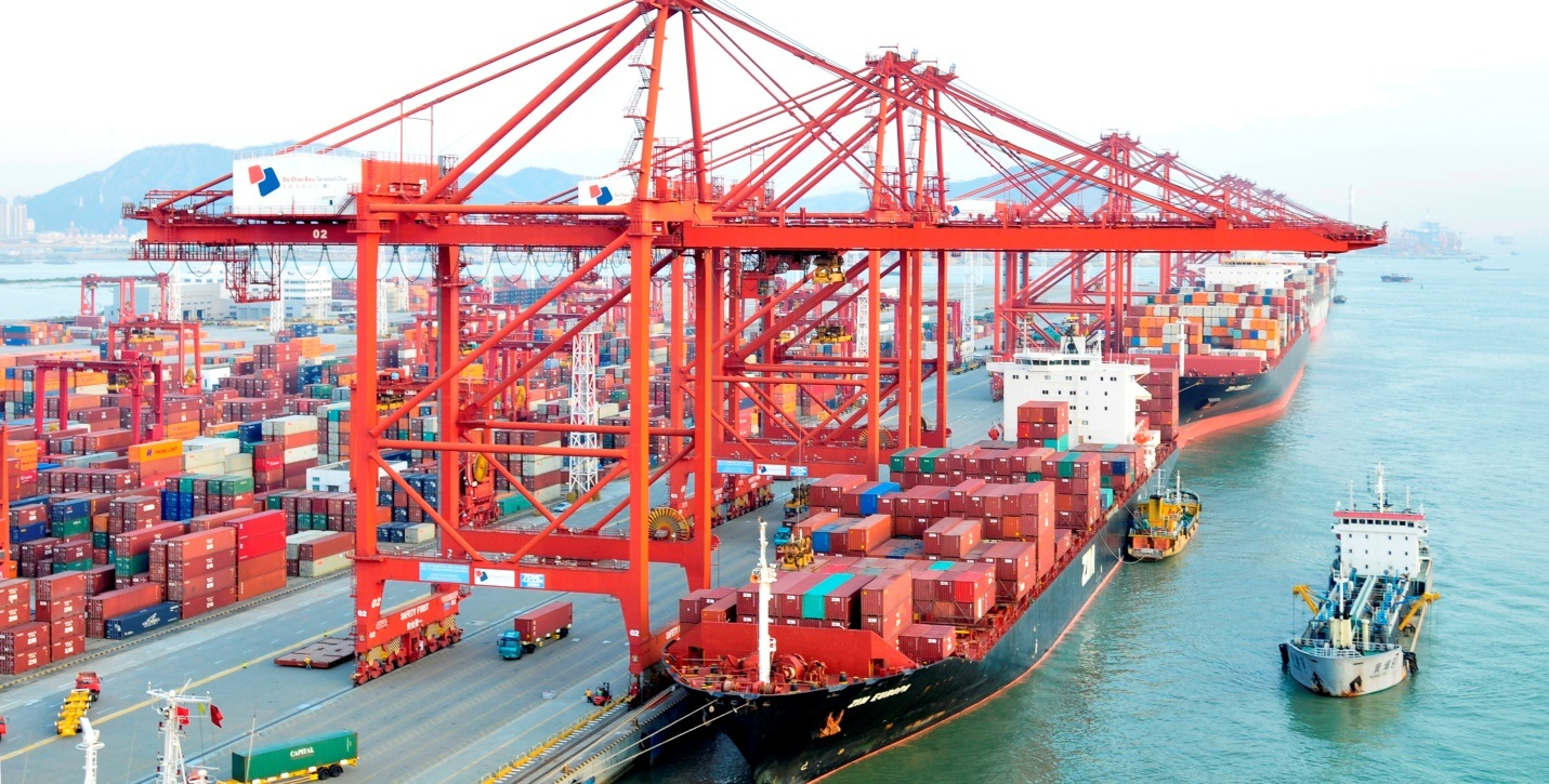 Hải phòng là một trong những cảng biển lớn tại Việt Nam