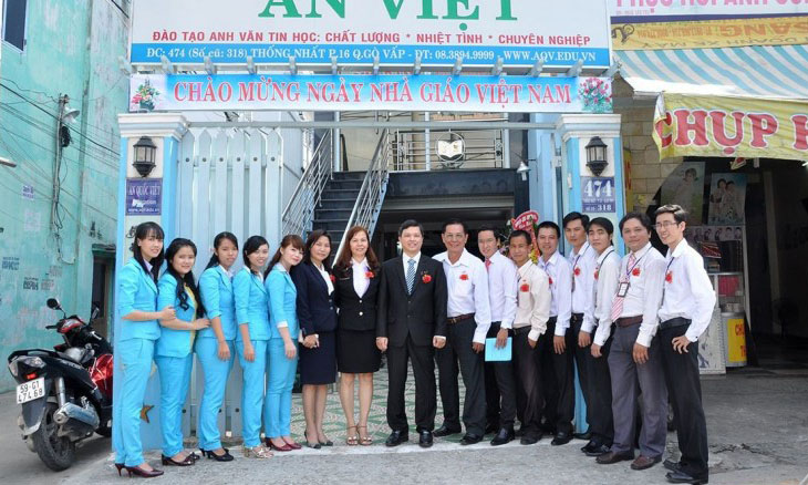 Khóa học EXCEL tại trung tâm ngoại ngữ tin học An Quốc Việt